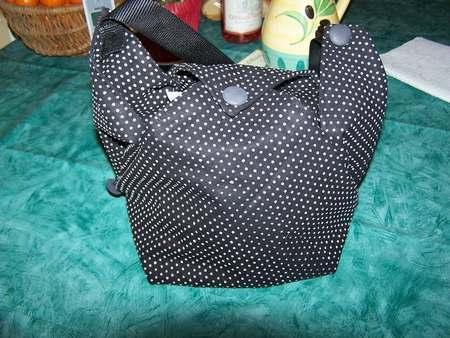 Origami sac a dos tuto sac origami tissu sac origami en papier - Patron sac en papier ...