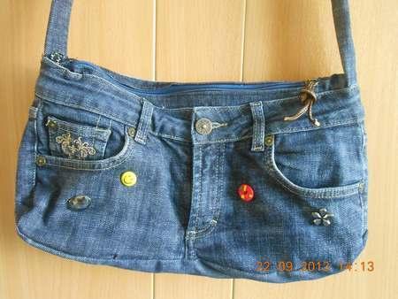 Sac jean charles de castelbajac armani jeans sac a main ecope saffiano - Sac a main en jean ...